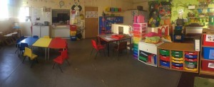 Our Tabletop Activity Area