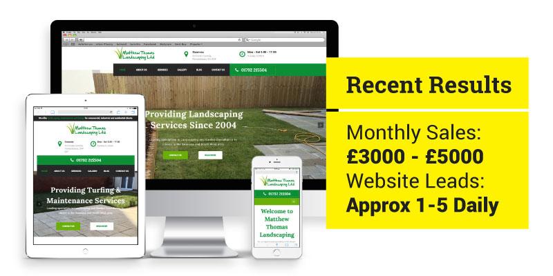 Client case study: MT Landscaping