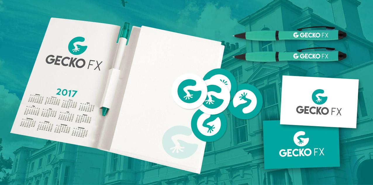 Gecko FX Branded Stationery